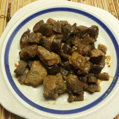 Рагу из свинины и баклажанов - рецепт с фото