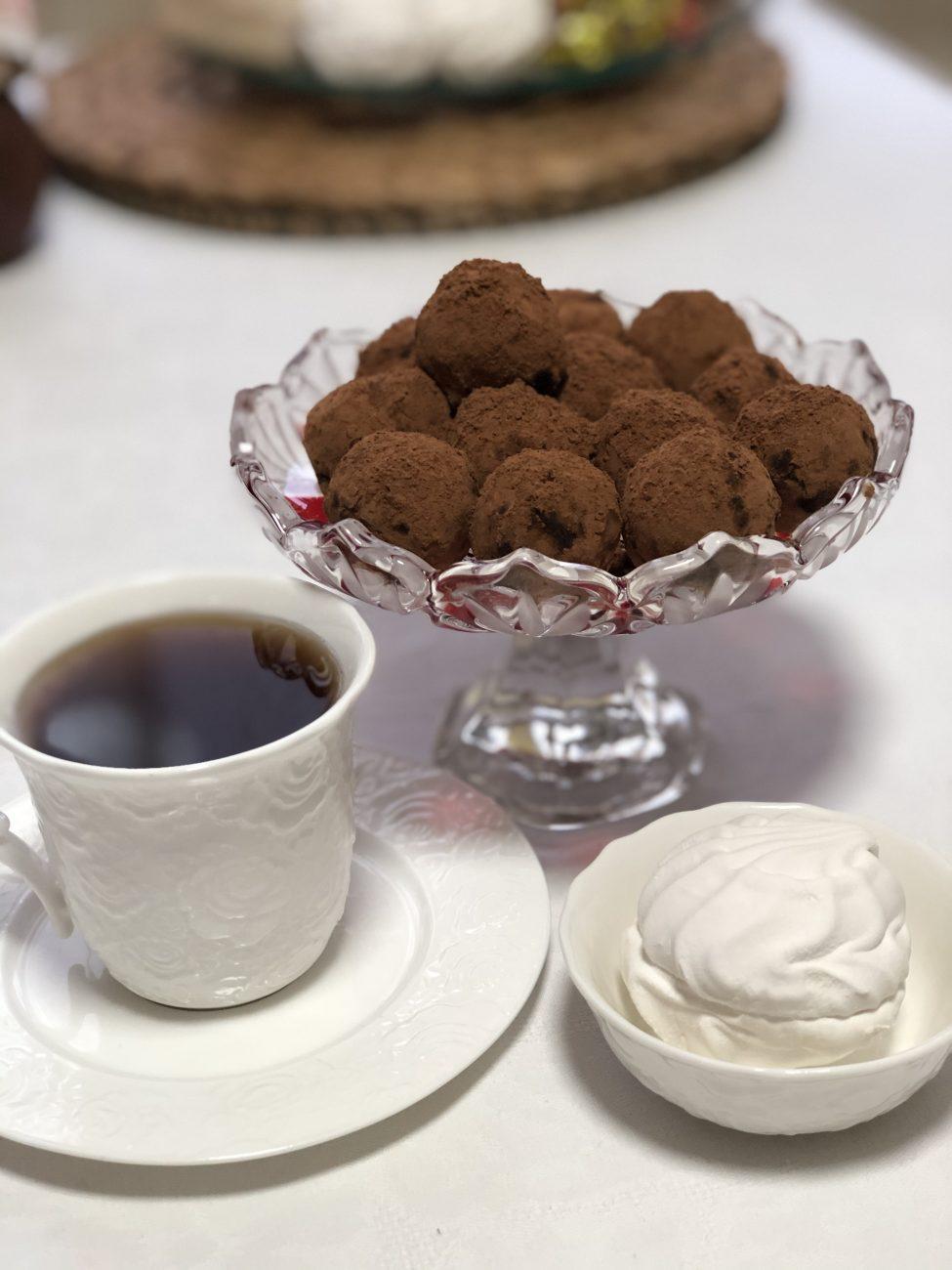 Конфеты из орехов и фиников без сахара