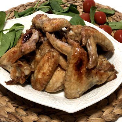 Крылышки в медово-соевом соусе - рецепт с фото