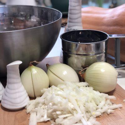 Фото рецепта - Манты с тыквой и луком - шаг 4