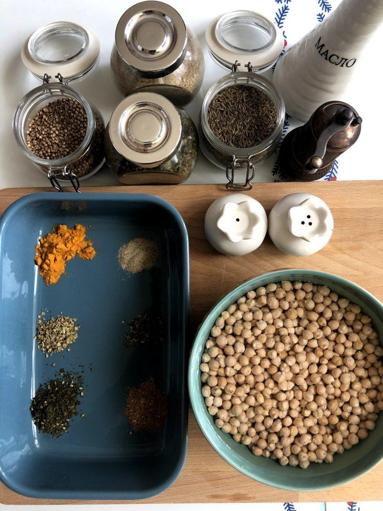 Фото рецепта - Фалафель – гороховые шарики - шаг 1