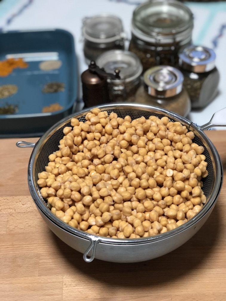 Фото рецепта - Фалафель – гороховые шарики - шаг 3