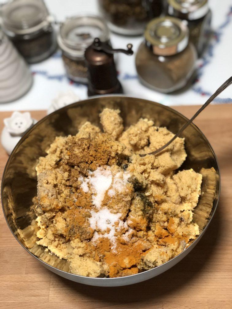 Фото рецепта - Фалафель – гороховые шарики - шаг 5