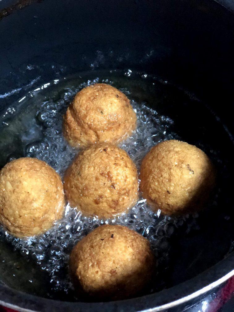 Фото рецепта - Фалафель – гороховые шарики - шаг 8