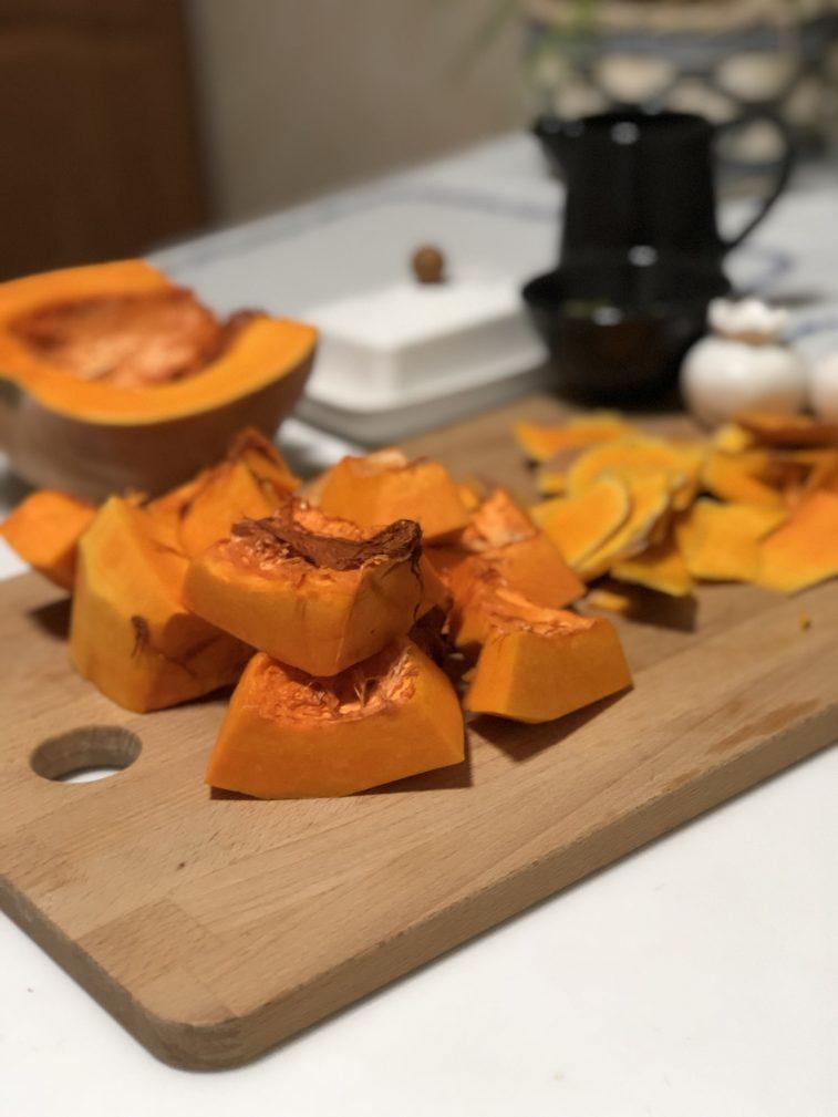 Фото рецепта - Крем-суп из тыквы - шаг 2
