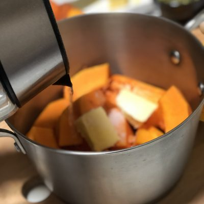 Фото рецепта - Крем-суп из тыквы - шаг 3