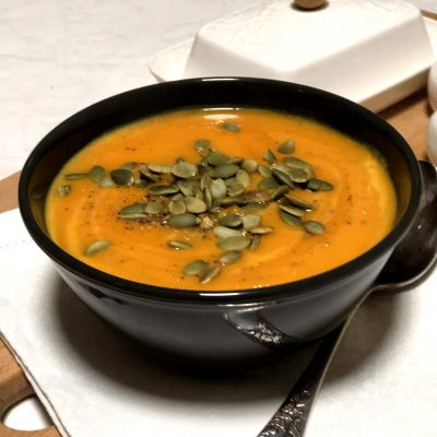 Крем-суп из тыквы - рецепт с фото