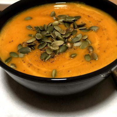Фото рецепта - Крем-суп из тыквы - шаг 11