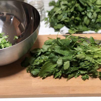Фото рецепта - Лепешки с зеленью по-армянски - шаг 8
