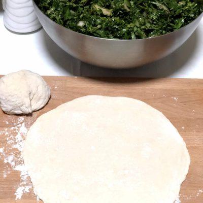 Фото рецепта - Лепешки с зеленью по-армянски - шаг 11