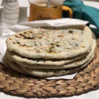 Лепешки с зеленью по-армянски - рецепт с фото