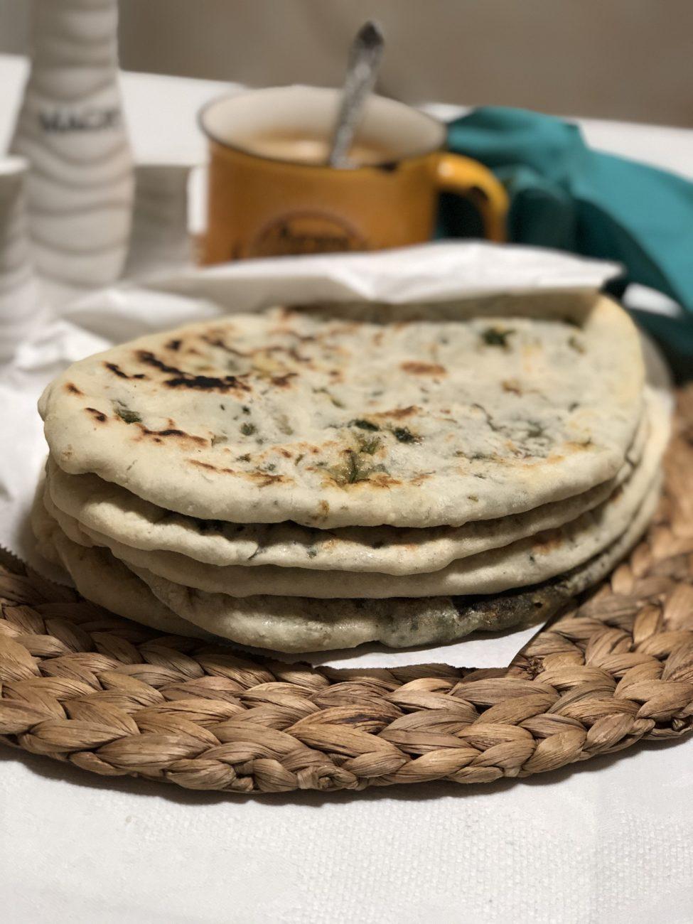 Лепешки с зеленью по-армянски