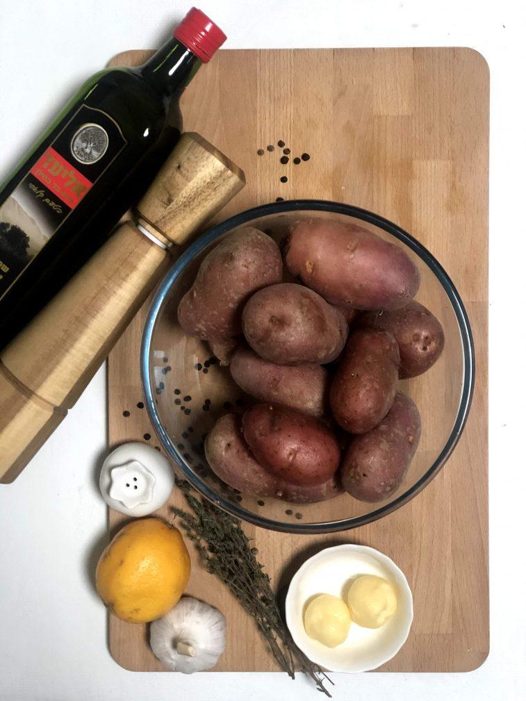 Фото рецепта - Запеченный картофель с грибами - шаг 2