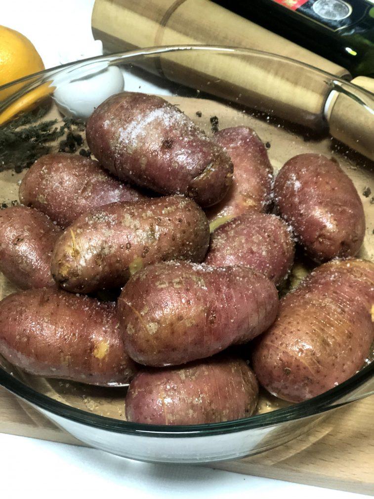 Фото рецепта - Запеченный картофель с грибами - шаг 4