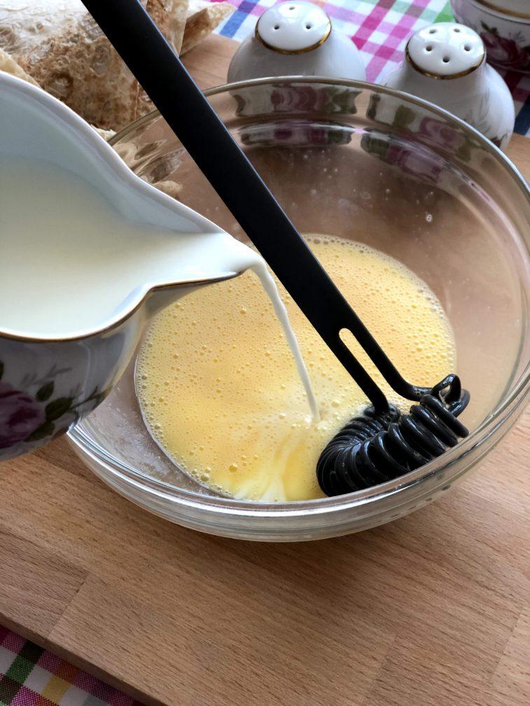 Фото рецепта - Треугольники из лаваша с сыром в кляре - шаг 8