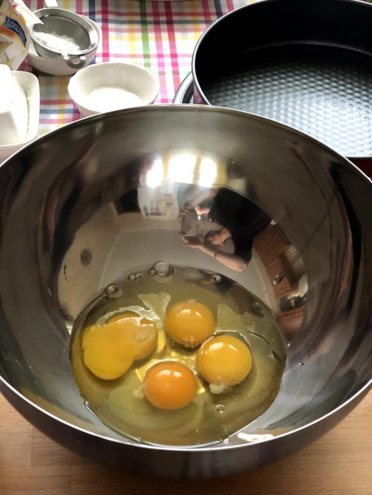 Фото рецепта - Мандариновый пирог - шаг 3