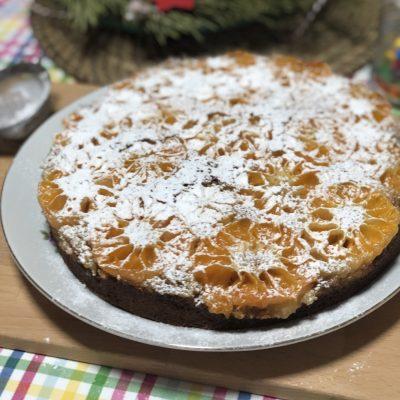 Мандариновый пирог - рецепт с фото