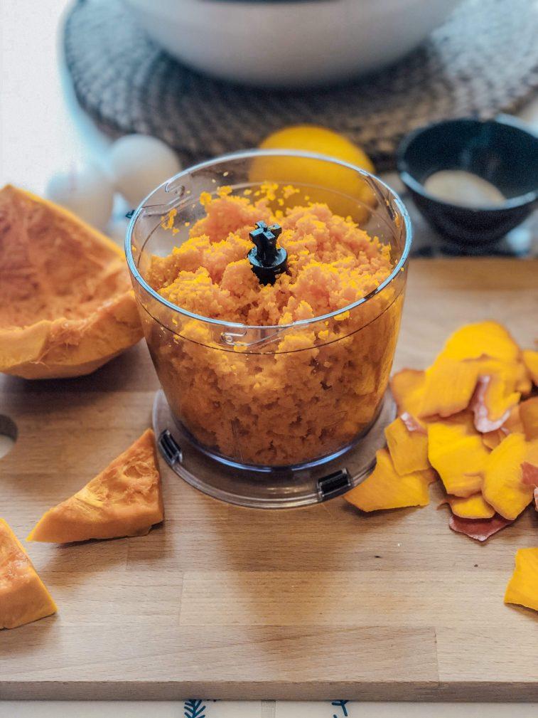 Фото рецепта - Пирог с тыквой и лимоном - шаг 3