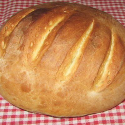Хлеб на дрожжах - рецепт с фото