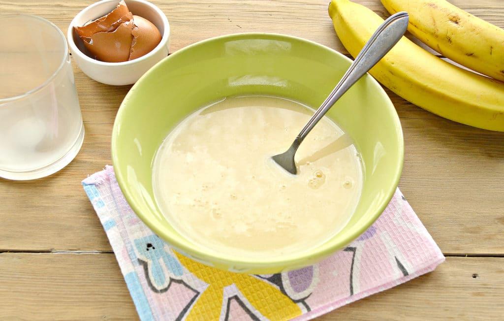 Фото рецепта - Гренки с бананами - шаг 1