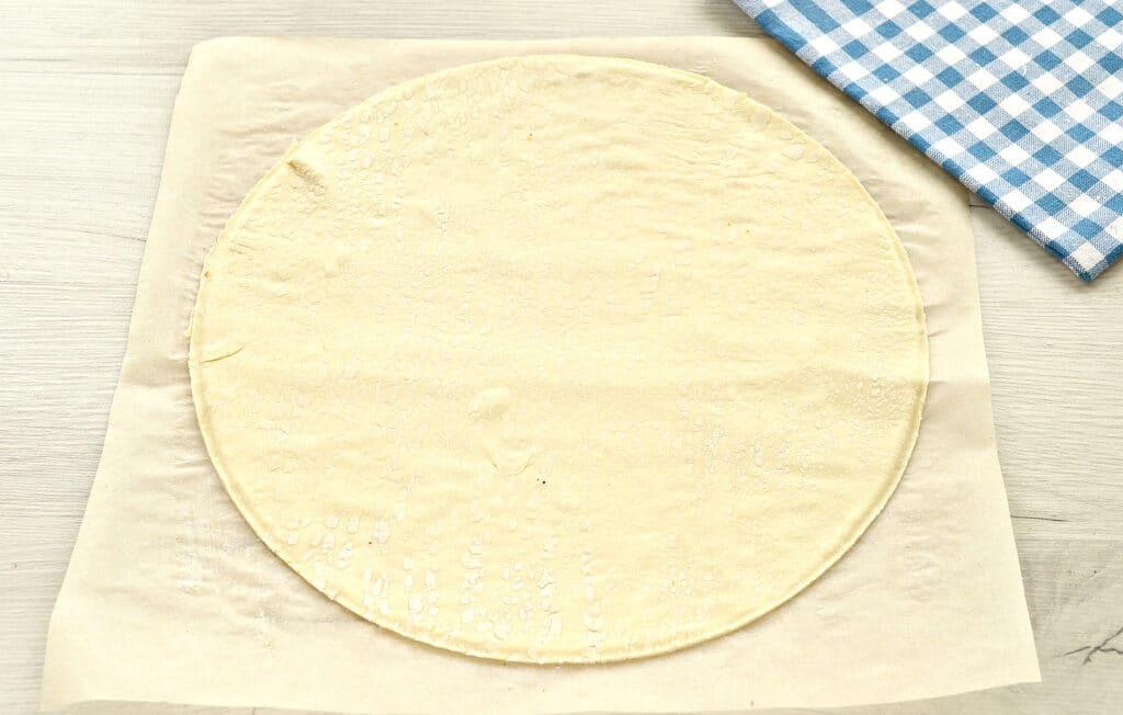 Фото рецепта - Пицца с двумя видами колбасы - шаг 1