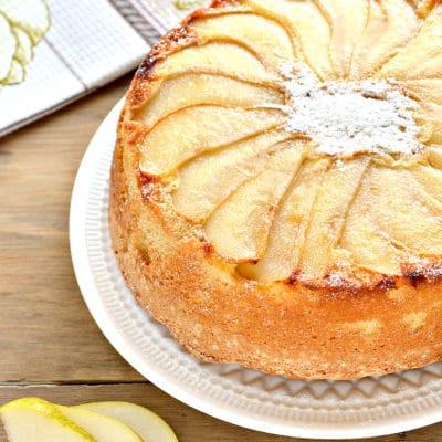 Быстрый грушевый пирог - рецепт с фото