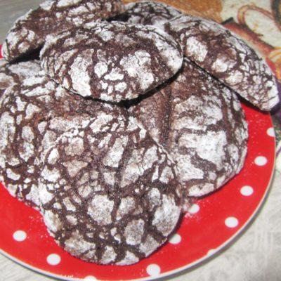 Мраморное шоколадное печенье (на растительном масле и какао) - рецепт с фото