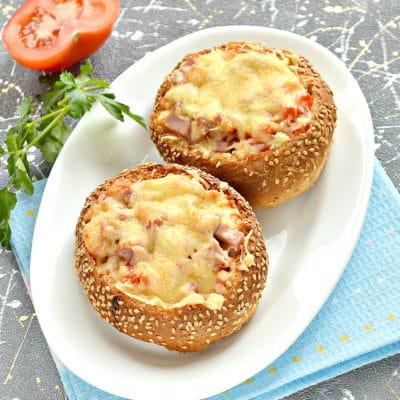 Пицца в булочках - рецепт с фото