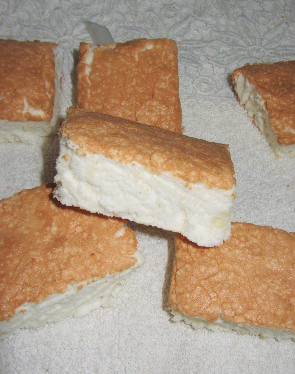 Ангельский бисквит (на белках)