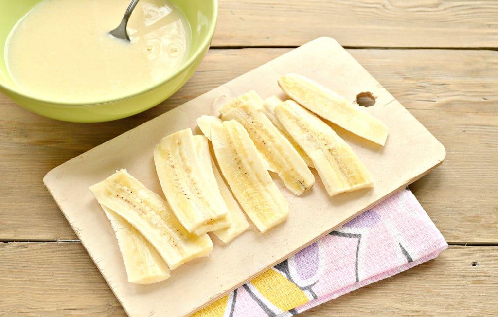 Фото рецепта - Гренки с бананами - шаг 3