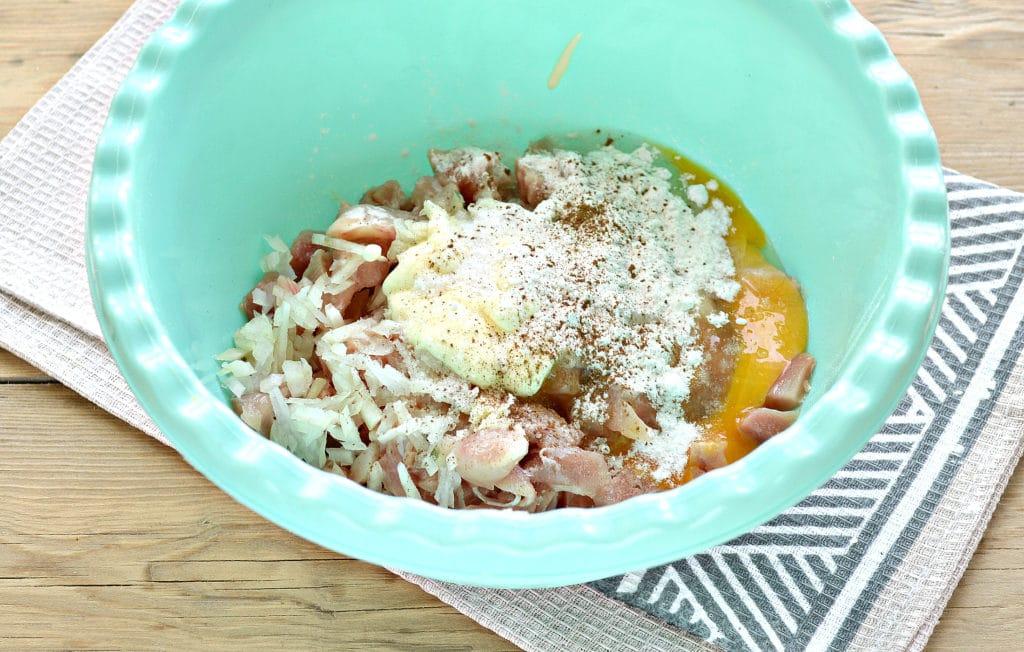 Фото рецепта - Жареное мясо по-албански из курицы - шаг 4