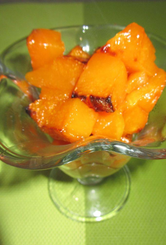 Фото рецепта - Запеченные кусочки тыквы с ванилью и корицей - шаг 3