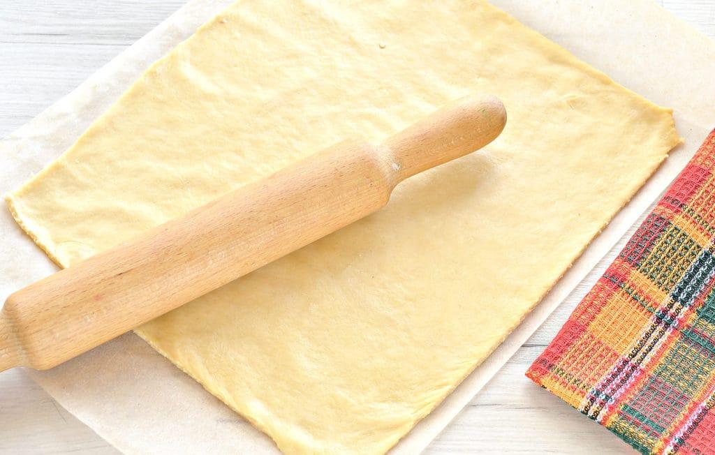 Фото рецепта - Пирог с картошкой и грибами - шаг 6