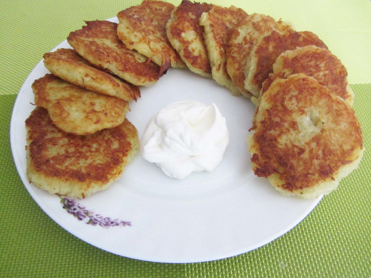 Картофельные драники (без яиц и муки)
