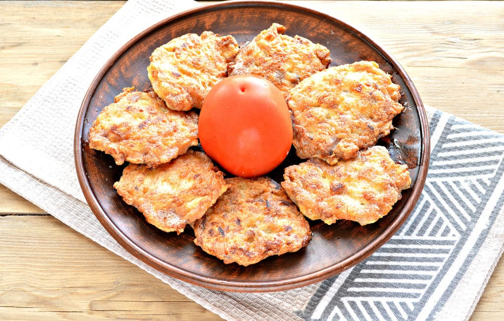 Фото рецепта - Жареное мясо по-албански из курицы - шаг 7