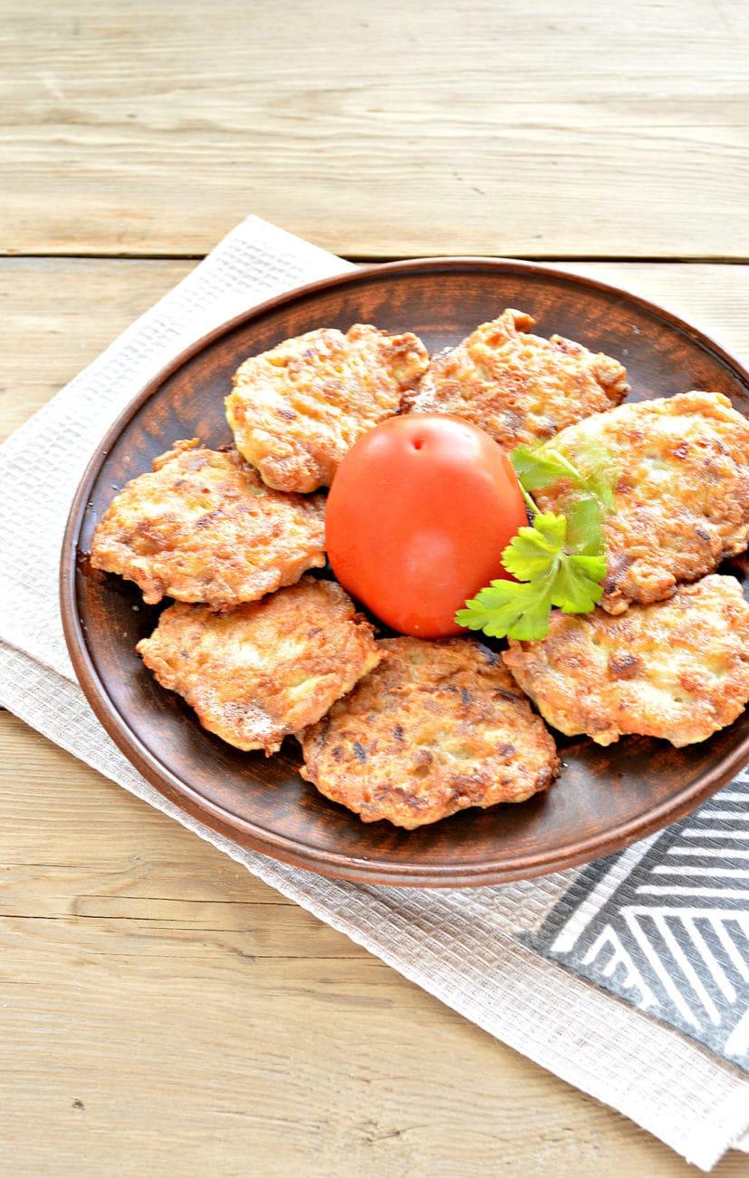 Жареное мясо по-албански из курицы