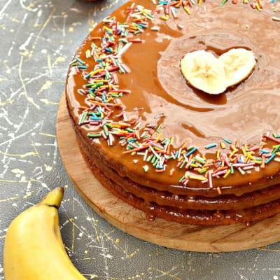 Фруктовый торт из готовых коржей - рецепт с фото
