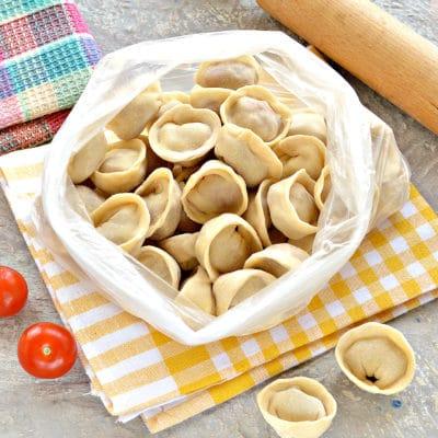 Пельмени замороженные - рецепт с фото