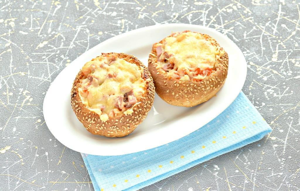 Фото рецепта - Пицца в булочках - шаг 9
