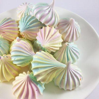 Цветное безе в домашних условиях - рецепт с фото