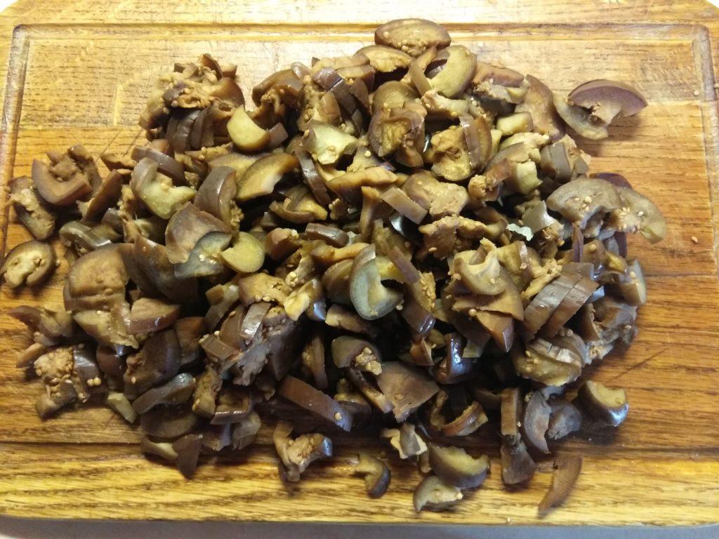 Фото рецепта - Постное рагу из капусты и баклажанов - шаг 2