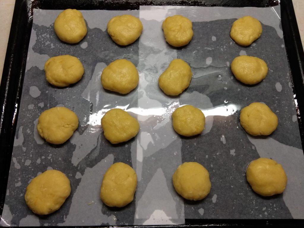 Фото рецепта - Апельсиновое песочное печенье - шаг 5