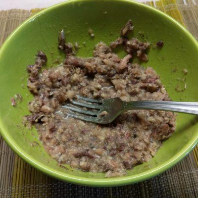 Фото рецепта - Картофельная запеканка с консервированными сардинами - шаг 5