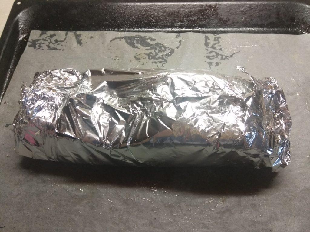 Фото рецепта - Грудинка, запеченная в духовке в горчице и специях - шаг 3