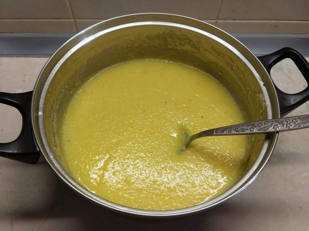 Фото рецепта - Запеканка из кукурузной крупы с консервированной кукурузой - шаг 1