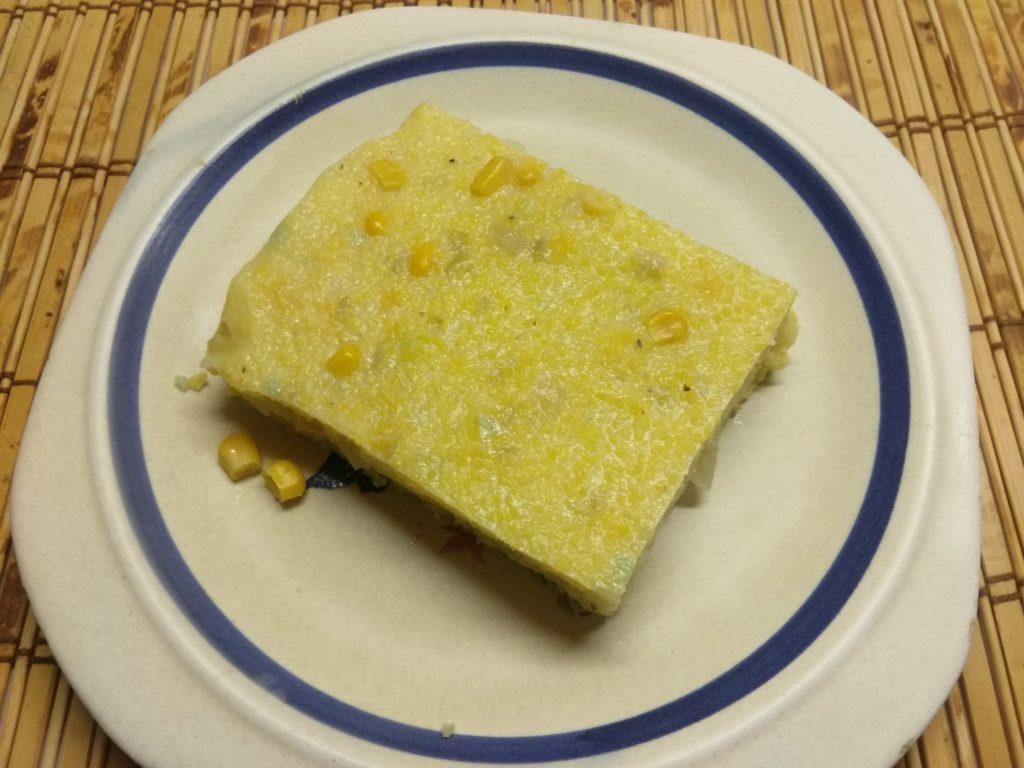 Фото рецепта - Запеканка из кукурузной крупы с консервированной кукурузой - шаг 6