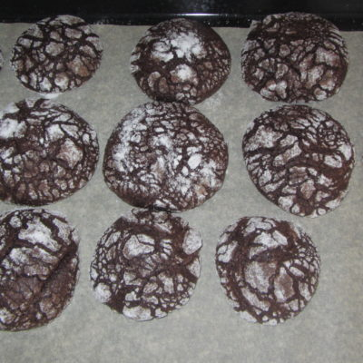 Фото рецепта - Мраморное шоколадное печенье (на растительном масле и какао) - шаг 4