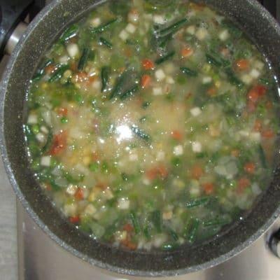Фото рецепта - Кус-кус с овощной мексиканской смесью - шаг 3