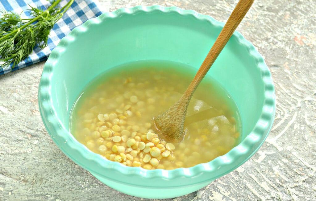 Фото рецепта - Гороховый суп-пюре на мясном бульоне - шаг 1