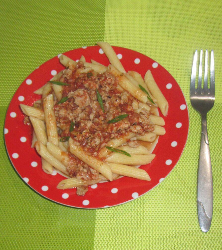 Фото рецепта - Паста с соусом болоньезе - шаг 5